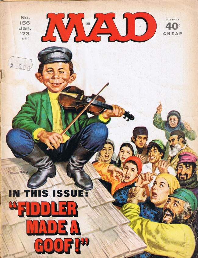 MAD Magazine #156 • USA • 1st Edition - New York