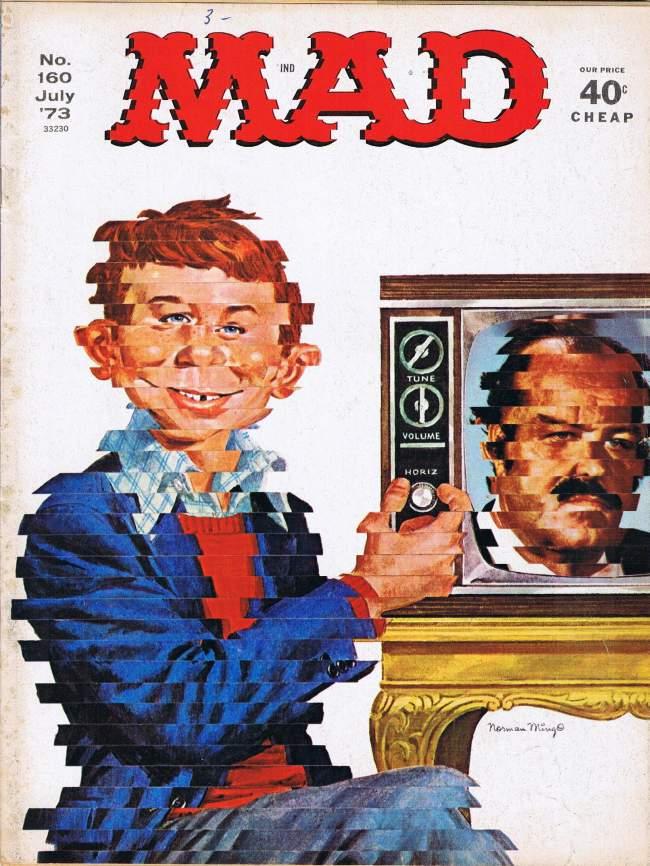 MAD Magazine #160 • USA • 1st Edition - New York