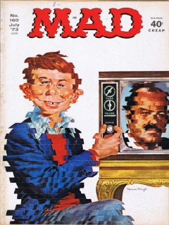 MAD Magazine #160 • USA • 1st Edition - New York