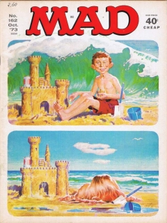 Go to MAD Magazine #162 • USA • 1st Edition - New York