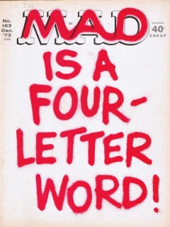 MAD Magazine #163 • USA • 1st Edition - New York