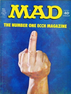 Go to MAD Magazine #166