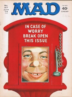 Go to MAD Magazine #167