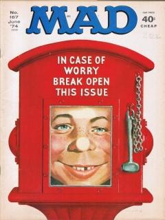 MAD Magazine #167 • USA • 1st Edition - New York