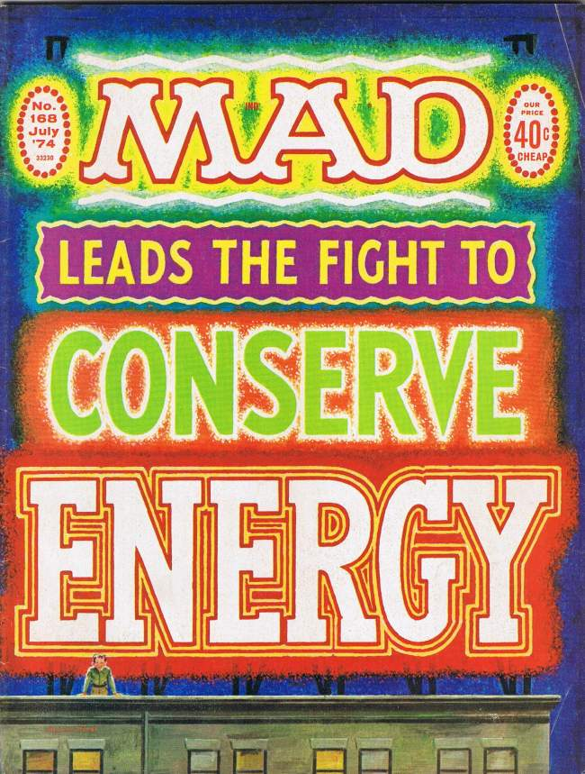 MAD Magazine #168 • USA • 1st Edition - New York