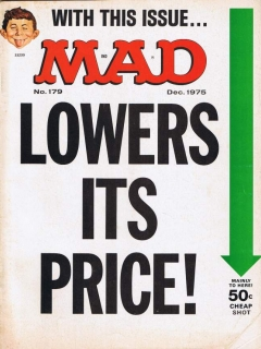 Go to MAD Magazine #179