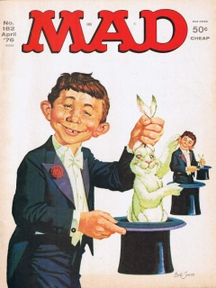 Go to MAD Magazine #182 • USA • 1st Edition - New York