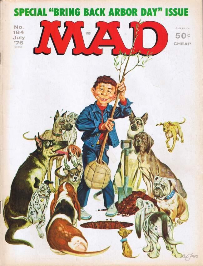 MAD Magazine #184 • USA • 1st Edition - New York