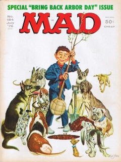 Go to MAD Magazine #184