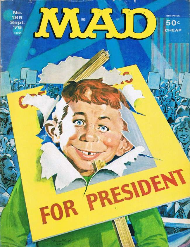 MAD Magazine #185 • USA • 1st Edition - New York