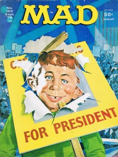 Go to MAD Magazine #185