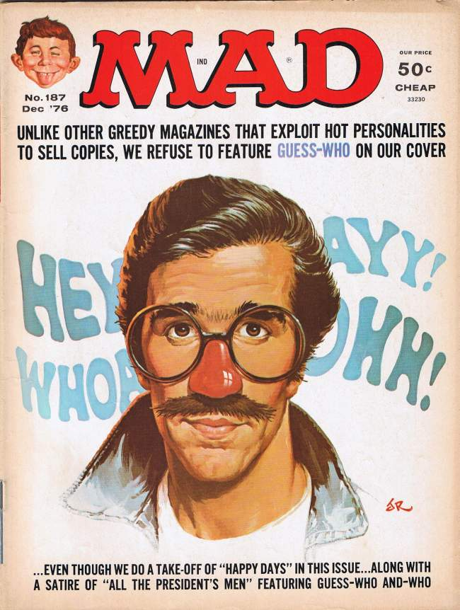MAD Magazine #187 • USA • 1st Edition - New York