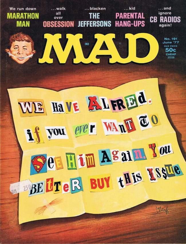 MAD Magazine #191 • USA • 1st Edition - New York