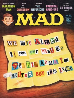 Go to MAD Magazine #191