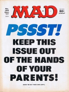 Go to MAD Magazine #195