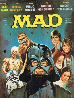 Go to MAD Magazine #196