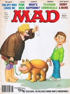 Go to MAD Magazine #199