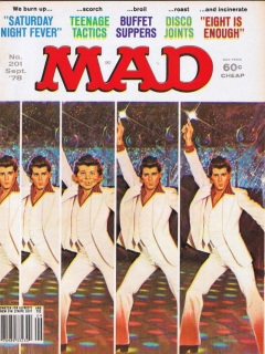 Go to MAD Magazine #201 • USA • 1st Edition - New York