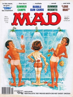 Go to MAD Magazine #202