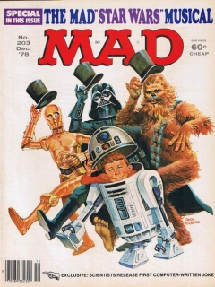 Go to MAD Magazine #203