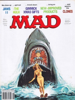 Go to MAD Magazine #204
