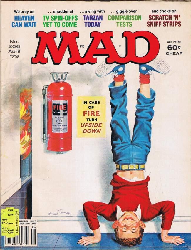 MAD Magazine #206 • USA • 1st Edition - New York