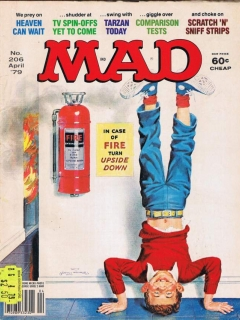 Go to MAD Magazine #206 • USA • 1st Edition - New York