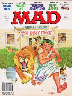 Go to MAD Magazine #207 • USA • 1st Edition - New York