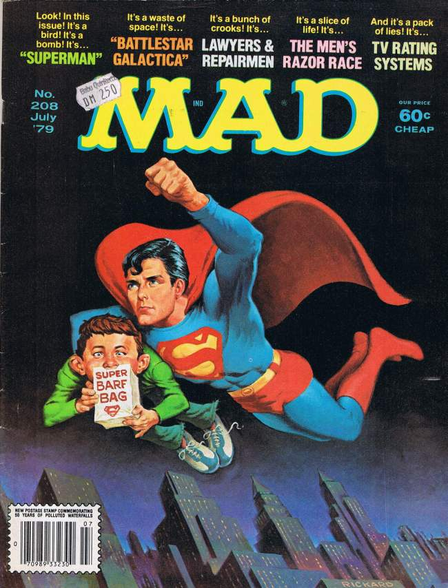 MAD Magazine #208 • USA • 1st Edition - New York