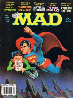 Go to MAD Magazine #208