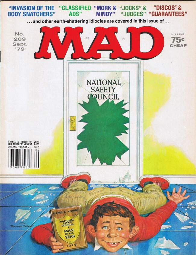 MAD Magazine #209 • USA • 1st Edition - New York