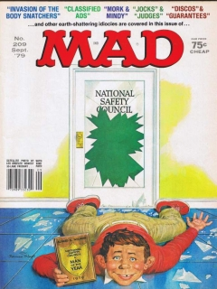 Go to MAD Magazine #209 • USA • 1st Edition - New York