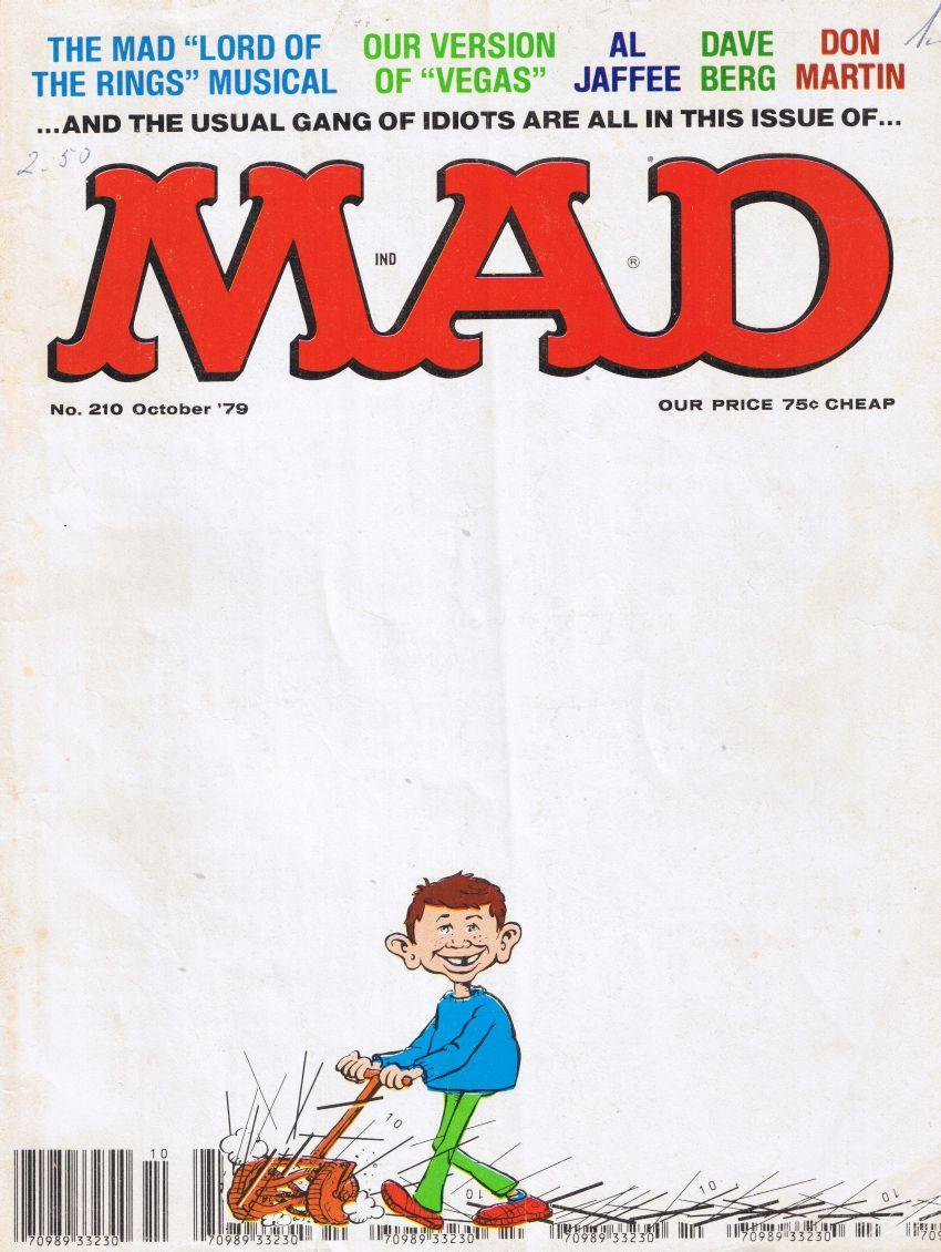 MAD Magazine #210 • USA • 1st Edition - New York