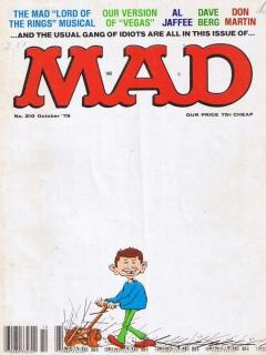 MAD Magazine #210 • USA • 1st Edition - New York