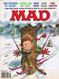 MAD Magazine #212 • USA • 1st Edition - New York