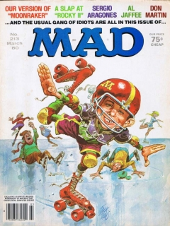 MAD Magazine #213 • USA • 1st Edition - New York