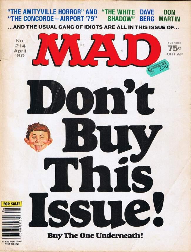 MAD Magazine #214 • USA • 1st Edition - New York