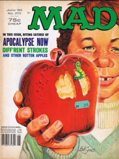 MAD Magazine #215 • USA • 1st Edition - New York