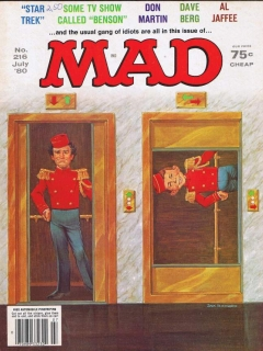 Go to MAD Magazine #216