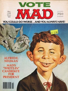 Go to MAD Magazine #218 • USA • 1st Edition - New York