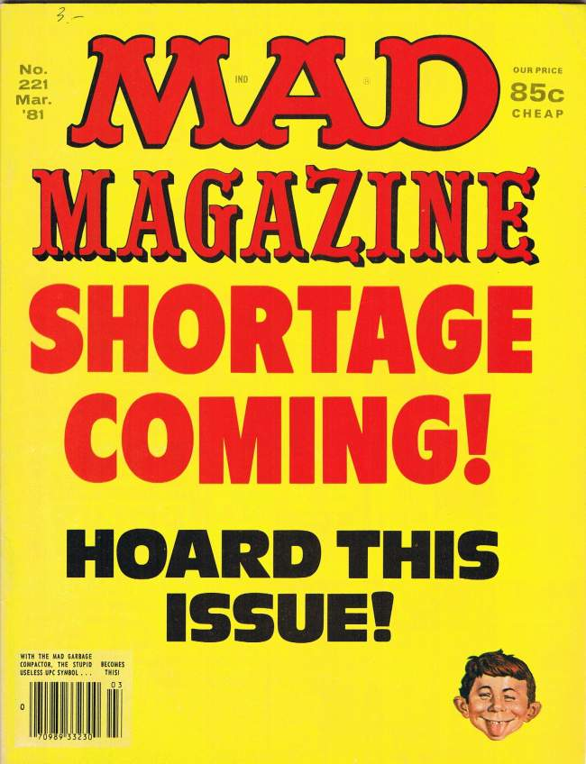 MAD Magazine #221 • USA • 1st Edition - New York