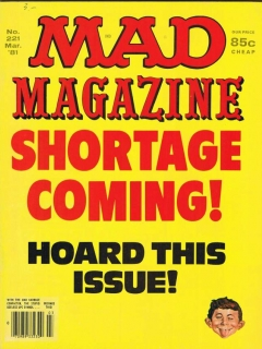 Go to MAD Magazine #221 • USA • 1st Edition - New York