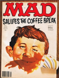 Go to MAD Magazine #222