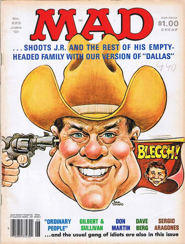 MAD Magazine #223 • USA • 1st Edition - New York