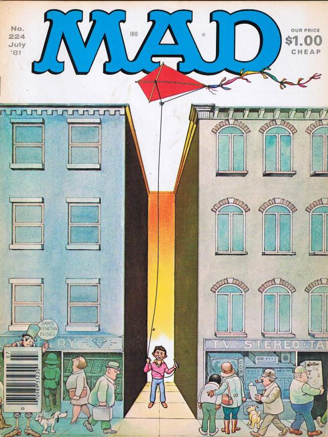 MAD Magazine #224 • USA • 1st Edition - New York