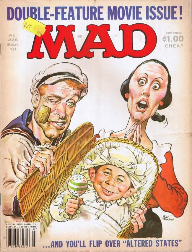 MAD Magazine #225 • USA • 1st Edition - New York