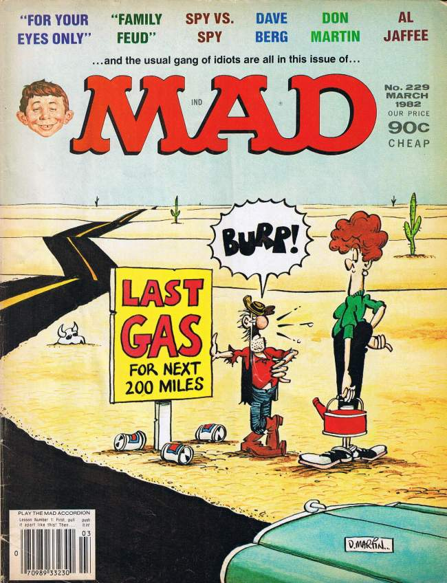 MAD Magazine #229 • USA • 1st Edition - New York