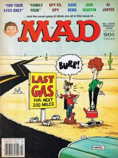 Go to MAD Magazine #229 • USA • 1st Edition - New York