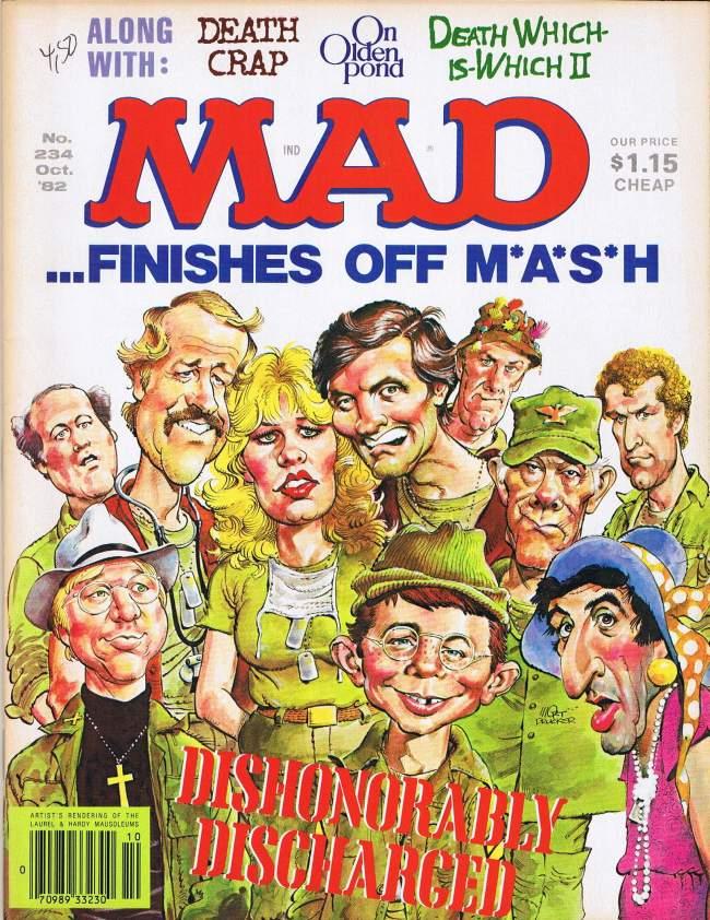 MAD Magazine #234 • USA • 1st Edition - New York