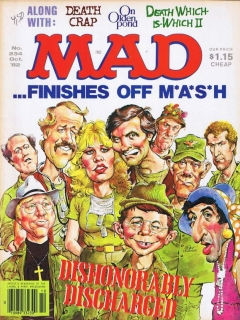 Go to MAD Magazine #234